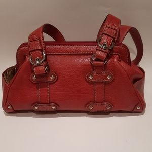 Nine west red woman bag purse